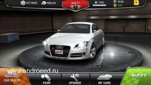 Скачать бесплатно игры для телефона, Скачать Drag Racing Real 3D