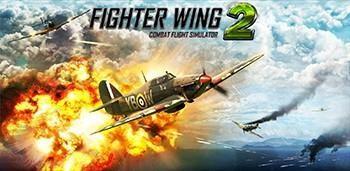 Скачать бесплатно игры для телефона, Скачать FighterWing 2 Flight Simulator