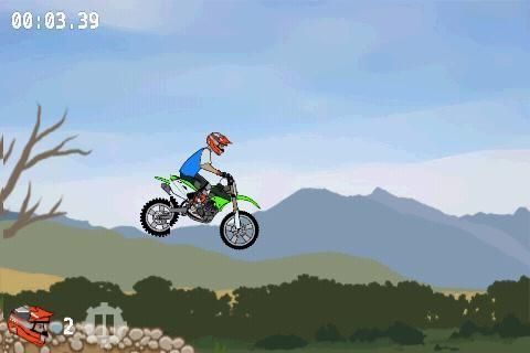 Скачать бесплатно игры для телефона, Скачать Moto X Mayhem