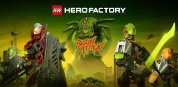 Скачать бесплатно игры для телефона, Скачать LEGO® HeroFactory Brain Attack