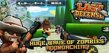 Скачать бесплатно игры для телефона, Скачать Action of Mayday: Last Defense