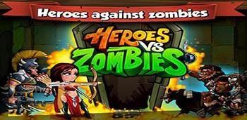Скачать бесплатно игры для телефона, Скачать Heroes Vs Zombies