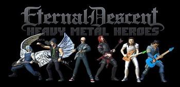Скачать бесплатно игры для телефона, Скачать Eternal Descent: Metal Heroes