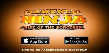 Скачать бесплатно игры для телефона, Скачать Elemental Ninja