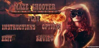 Скачать бесплатно игры для телефона, Скачать Бойня в лабиринте / Maze Shooter