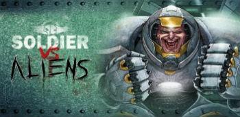 Скачать бесплатно игры для телефона, Скачать Soldier vs Aliens