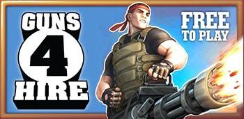 Скачать бесплатно игры для телефона, Скачать Guns 4 Hire